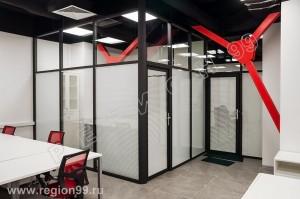 Стоимость стеклянных перегородок от 6000 руб. м2