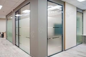 Стоимость стеклянных перегородок от 8000 руб. м2