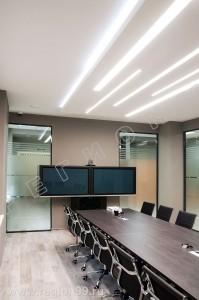 стеклянные в переговорной комнате