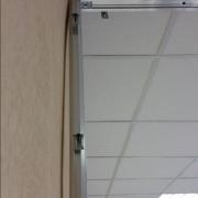уклон гипсокартона при примыкании офисных перегородок