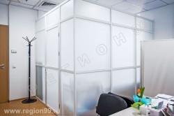 офисные перегородки комбинированные система 50