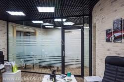 стеклянные перегородки DUO LUX