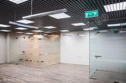 стеклянные перегородки цена 6200 руб. м2