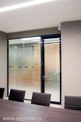 стеклянные перегородки с шумоизоляцией